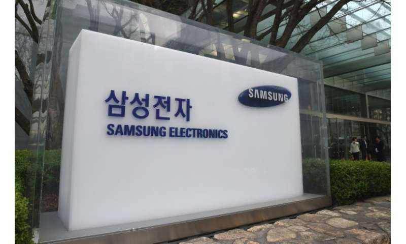 The South Korean tech giant is the world's top maker of smartphones and memory chips