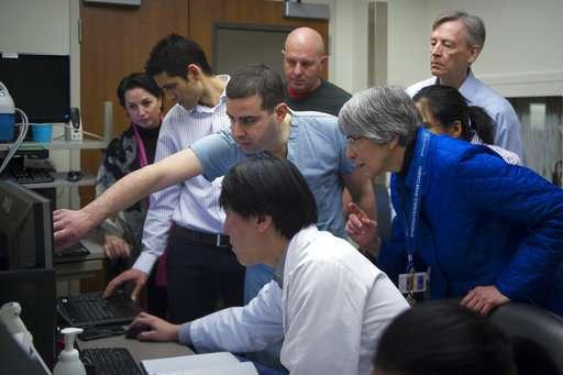 Ultrasound jiggles open brain barrier, a step to better care