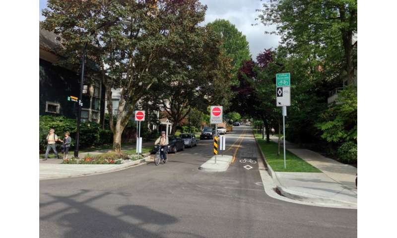 Urban greenways can reduce neighborhood carbon emissions