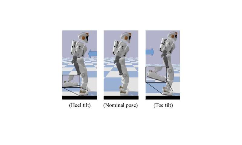 Using reinforcement learning to achieve human-like balance control strategies in robots