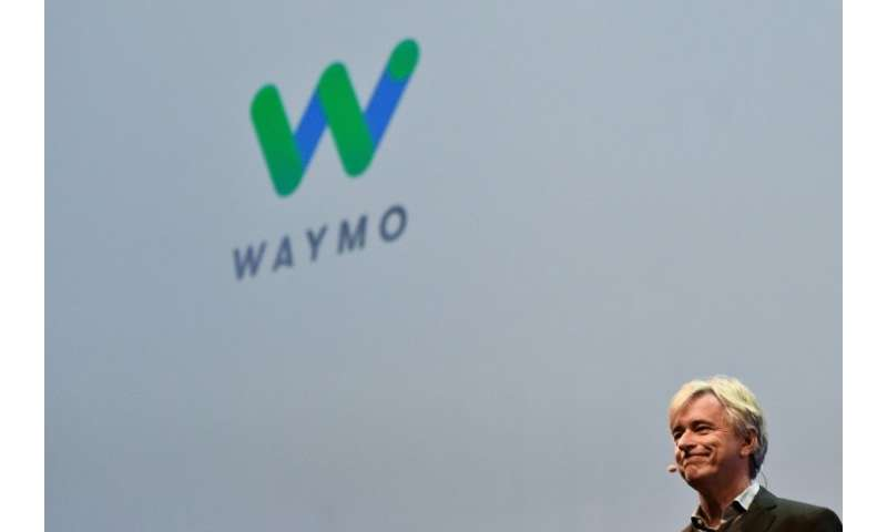 Waymo CEO John Krafcik, whose firm is competing with rival Uber in development of self-driving vehicles
