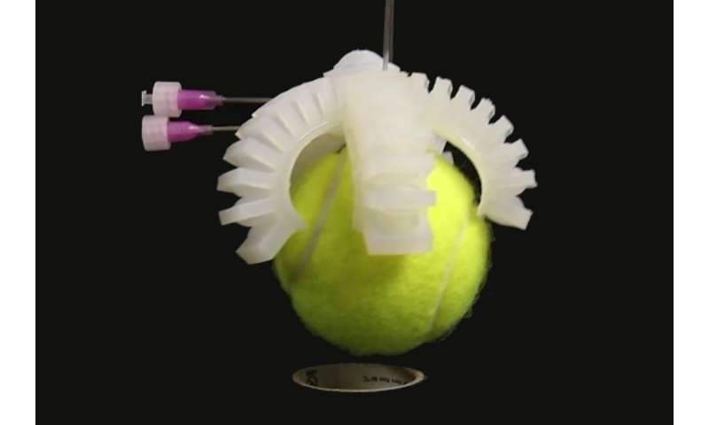 Researchers develop 'soft' valves to make entirely soft robots
