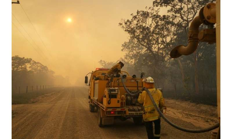 Firefighters have been battling to contain more than 130 blazes across Queensland