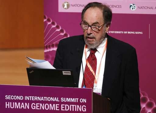 Scientists: World still isn't ready for gene-edited babies