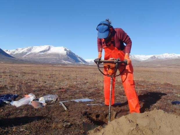 A new permafrost gas mystery