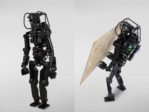 Development of a humanoid robot prototype, HRP-5P, capable of heavy labor– targeting practical use at assembly sites of large-sc