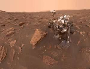 Electricity in Martian dust storms helps to form perchlorates