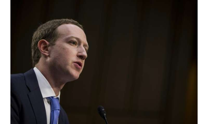 Facebook co-founder and CEO Mark Zuckerberg, seen at a congressional hearing in 2018, said in his annual message that the social