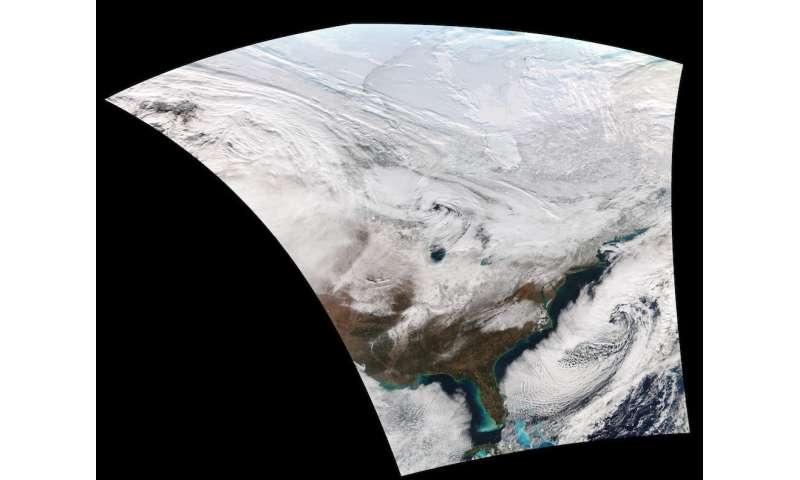 Freely shared satellite data improves weather forecasting