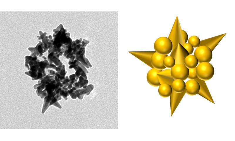 Genetically engineered virus spins gold into beads