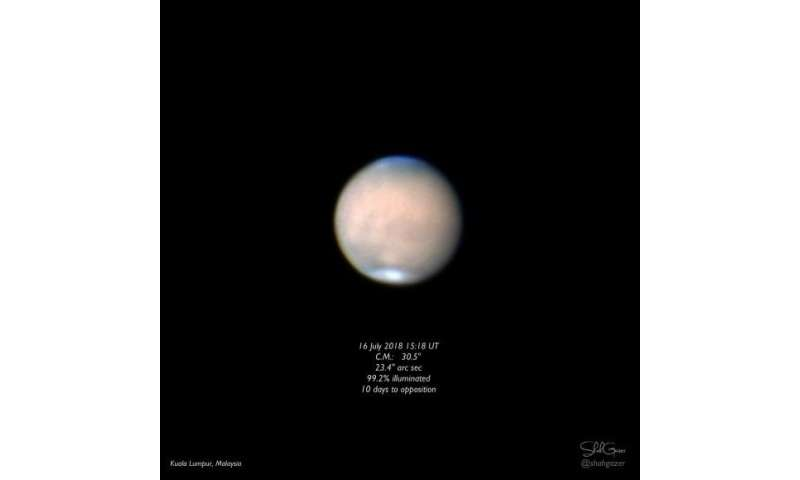 Guide to Mars Opposition 2018