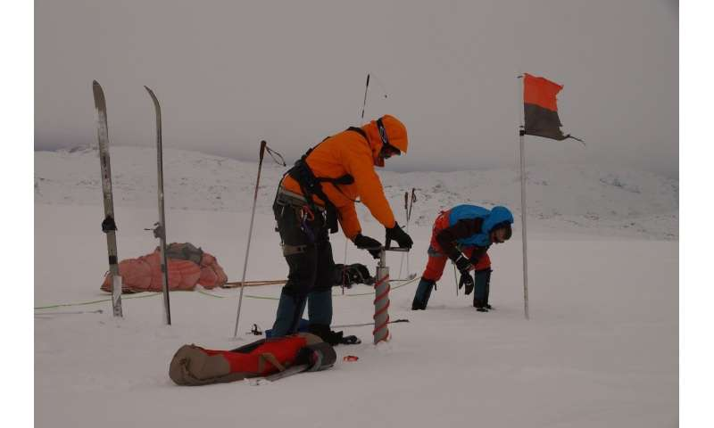 How kite skiing and weighing snow helps improve projections of sea level rise