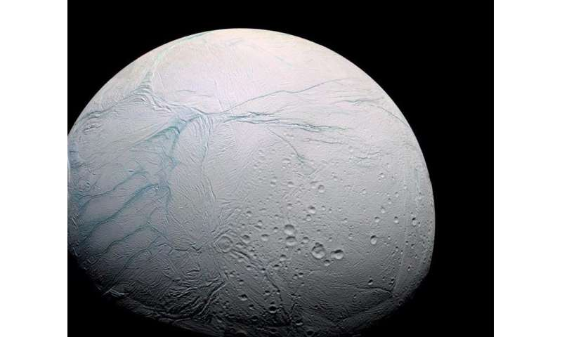 Ingredients for life on Saturn's moon can be