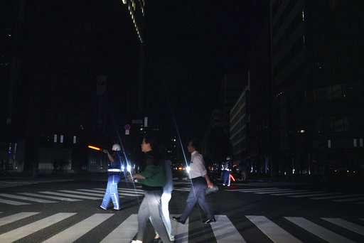 Japan's power supply system weak link in times of disaster