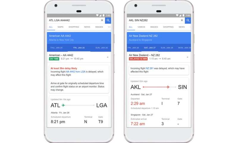 Machine learning algorithms go to work on Google Flights' delay predictions