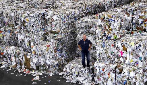 Market forces put America's recycling industry in the dumps