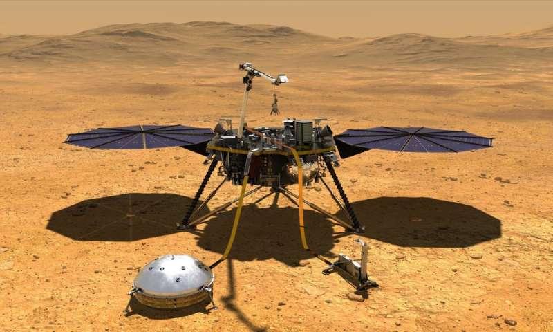 NASA's InSight will study Mars while standing still