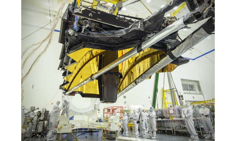 NASA's James Webb Observatory prepares for additional testing