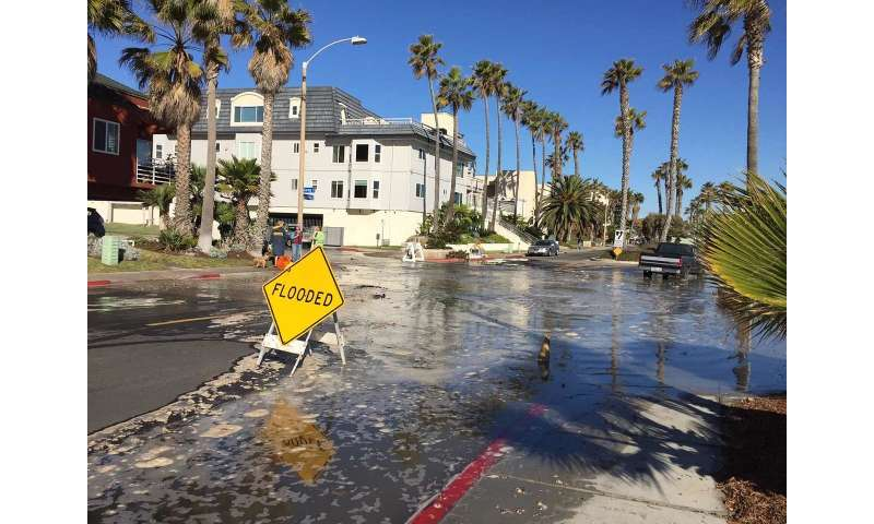 New sea-level rise and flood alert network developed by Scripps Oceanography launches in Imperial Beach