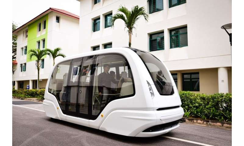 Image result for NTU to test Group Rapid Transit autonomous vehicles on Smart Campus by 2019