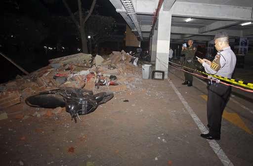 Powerful quake rocks Indonesia's Lombok island, 39 dead