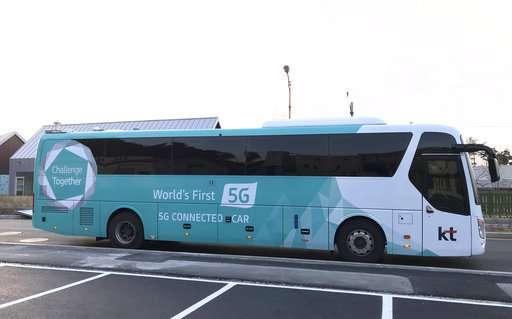Pyeongchang Olympics showcases Korean self-driving vehicles