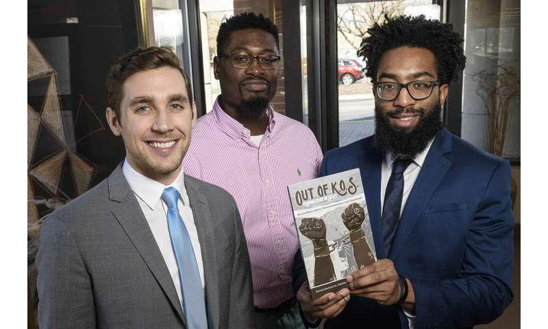 Researchers write book on development of masculinity among black males