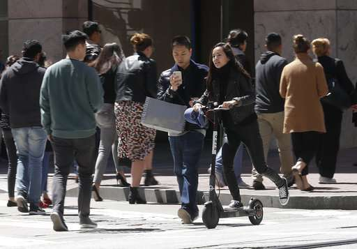 San Francisco to require permits for rental scooters