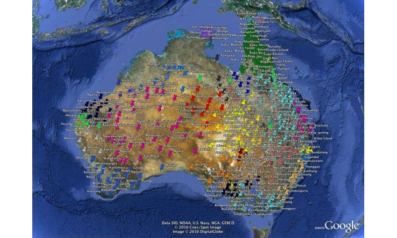 The origins of Pama-Nyungan, Australia's largest family of Aboriginal languages