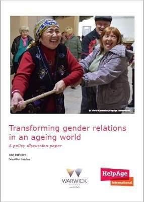 Transforming gender relations the key to flourishing in older age, researchers say