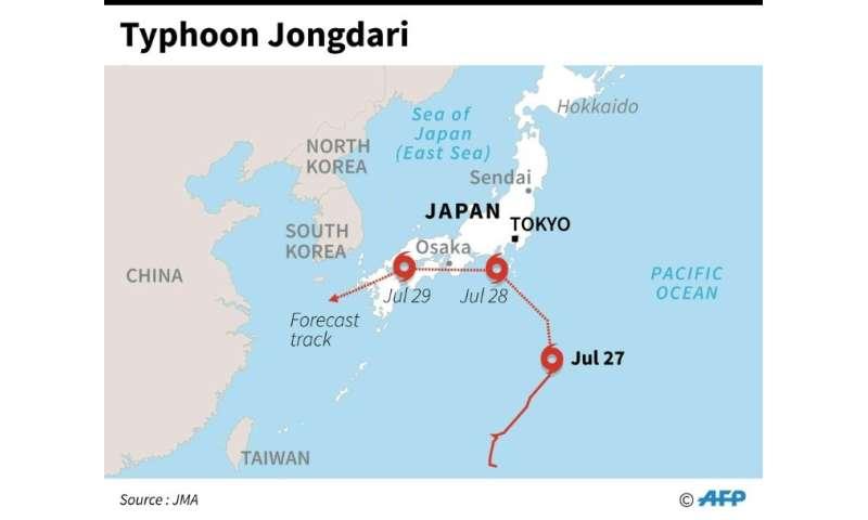 Taifun Jongdari