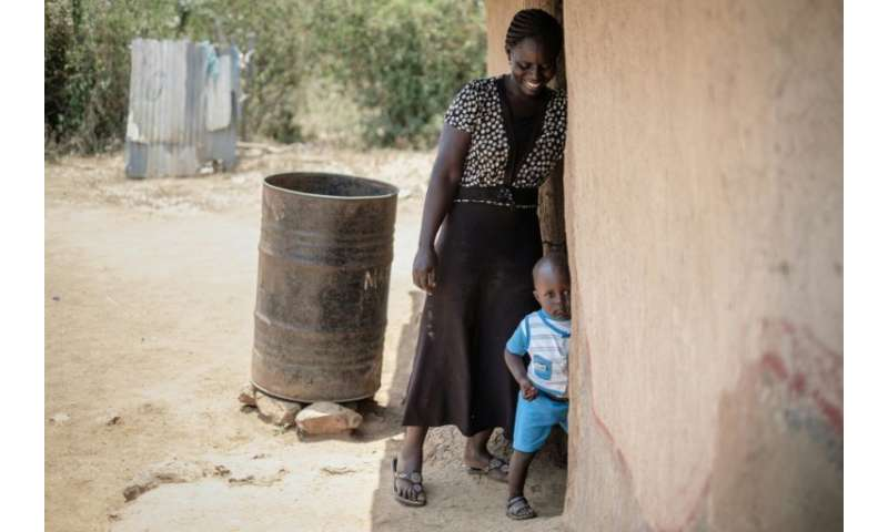 """30-year-old Monica, hopes to send her children to school so they won't """"live in poverty, like us"""""""