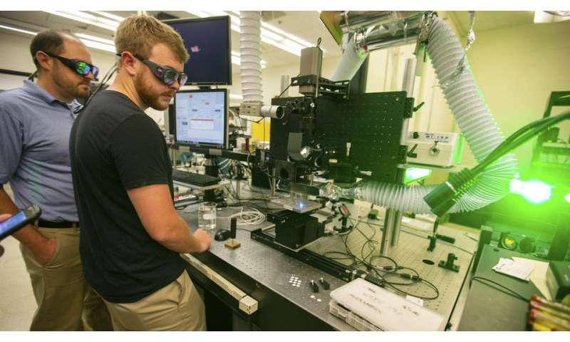 Researchers tap lasers to mimic shark skin, other natural surfaces