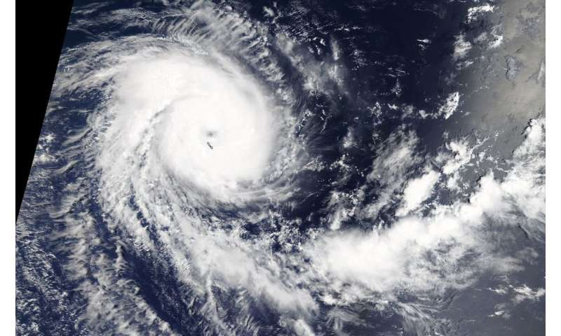NASA sees Tropical Cyclone Alcide reach hurricane strength