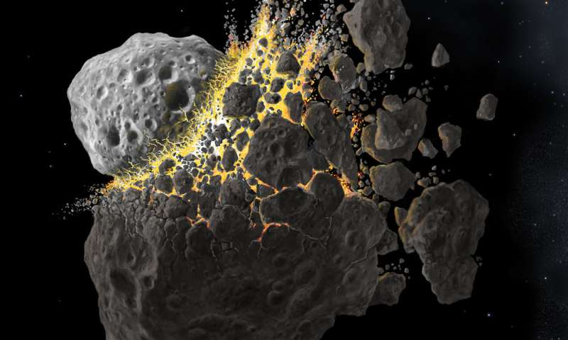 Study reveals secret origins of asteroids and meteorites