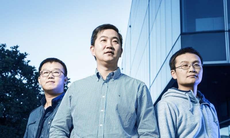 Scientists create atomic scale, two-dimensional electronic kagometnuyu lattice