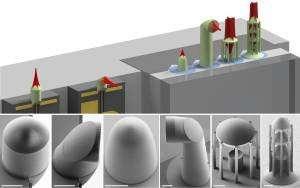 3-D nanoprinting facilitates communication with light