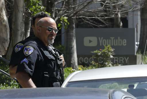 3 shot in YouTube office attack