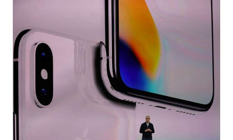 Apple CEO Tim Cook, seen at the 2017 iPhone event, is expected to unveil new handsets at an upcoming presentation on September 1