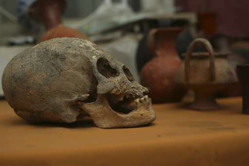 Excavators find tombs buried in Bolivia 500 years ago