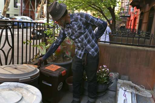 Ick factor: NYC so far turns up nose at food-scrap recycling