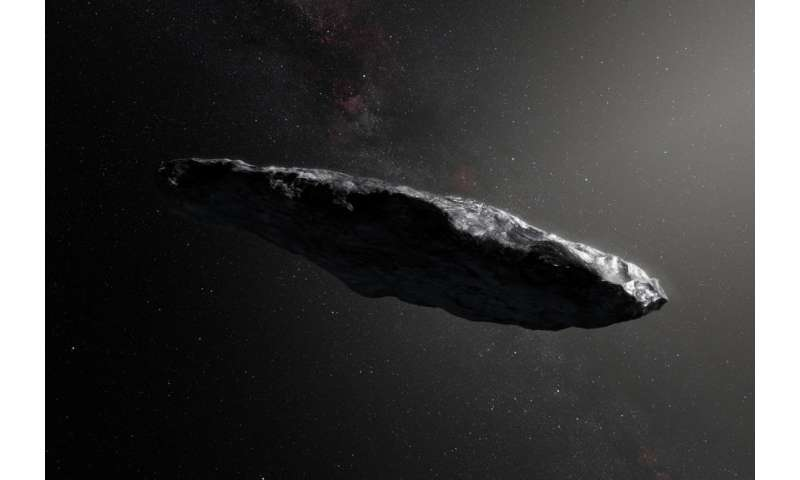 New study shows what interstellar visitor 'Oumuamua can teach us