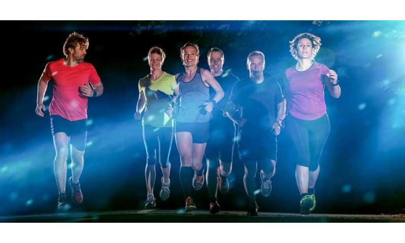 Physical activity in the evening does not cause sleep problems