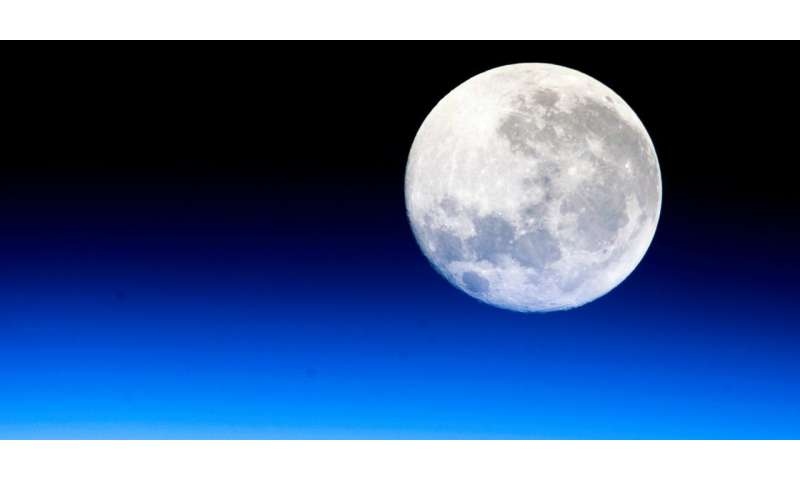 Physicists provide first model of moon's rotational dynamics, accounting for the solid inner core