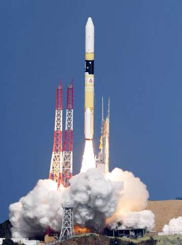 rocket carrying 1st uae made satellite launched from japan