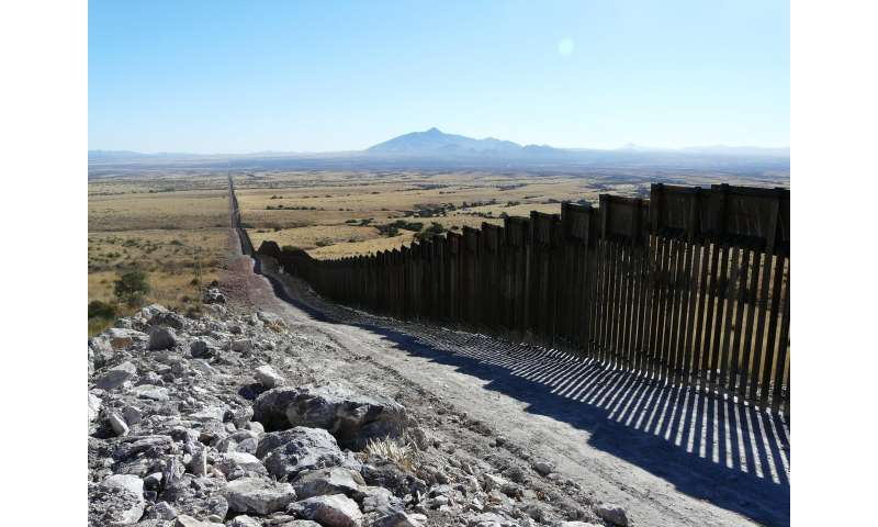 Scientists warn that proposed US-Mexico border wall threatens biodiversity, conservation