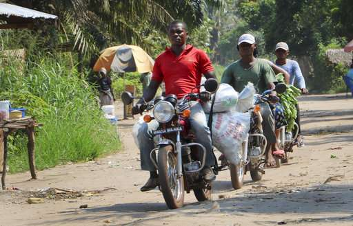 'They're at risk:' Congo's taxi drivers fear Ebola's spread
