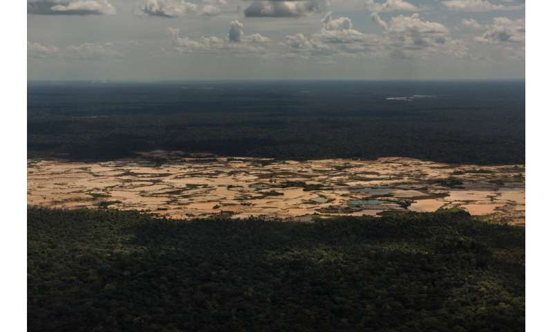 Toxic mercury poisoning the Amazon