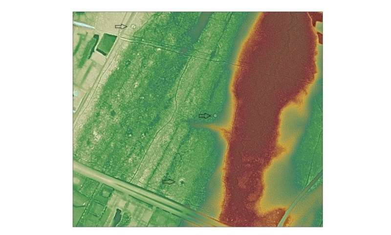 Archaeologists identify ancient North American mounds using new image analysis technique