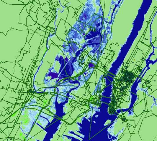 Study suggests buried Internet infrastructure at risk as sea levels rise